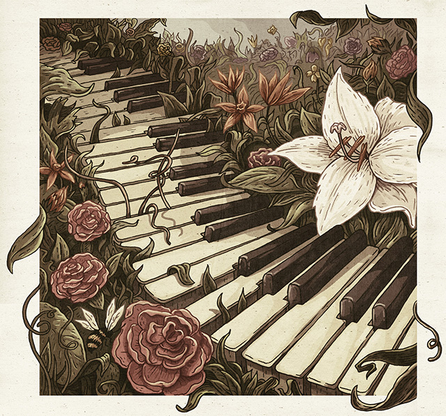 Gallery For gt Piano Keys Drawing Tumblr